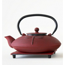 Most Popular 0.8L Japanese Dragonfly Cast Iron Teapot With Different Colours